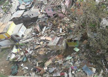 Scattered Building Debris